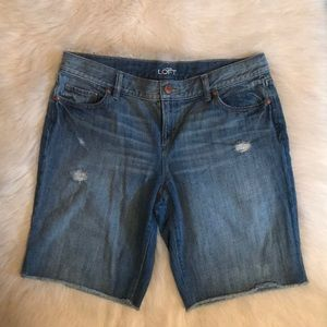 Ann Taylor Loft Denim Shorts